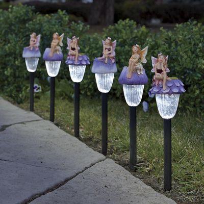 3-Piece Fairy Solar Stake Light Set