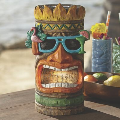 Solar Tiki Statue