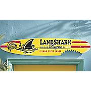 margaritaville surf board wall art