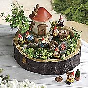 gnome fairy garden