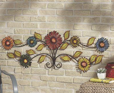 3-D Flower Wall Art