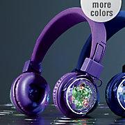 wireless led strobe light headphones