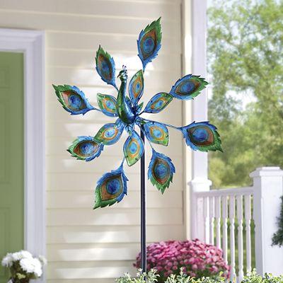 Peacock Garden Spinner