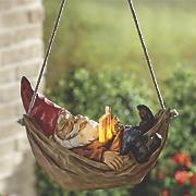 solar hanging garden gnome