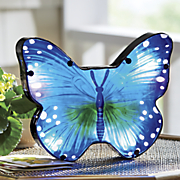 solar butterfly centerpiece