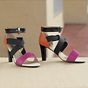 colorblock connection heel by monroe and main