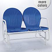 retro chair and glider