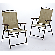 Set of 2 Folding Chairs