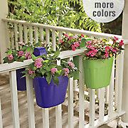 fence flower pot