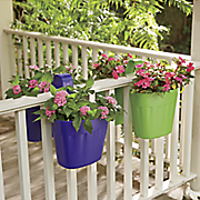 fence flower pot