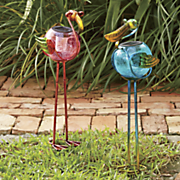 solar bird stakes