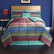 Rio Comforter Set, Pillow and Window Treatments