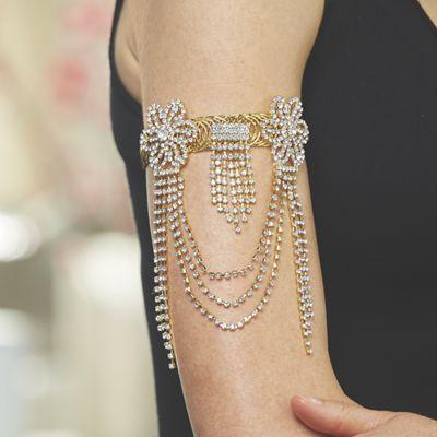 Crystal Arm Stretch Jewelry