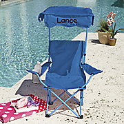 personalized kids  canopy chair