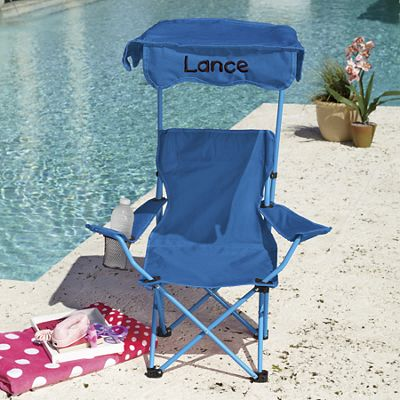 Personalized Kids' Canopy Chair