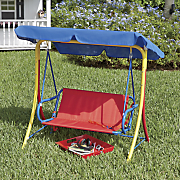 kids  canopy swing