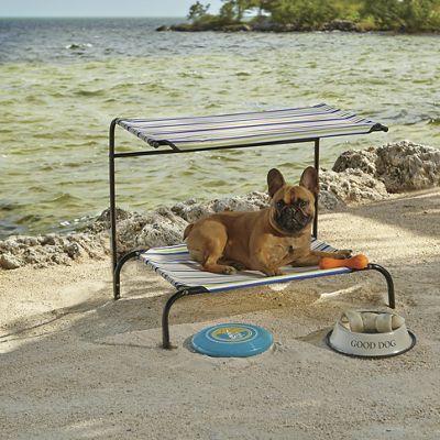 Striped Pet Cabana