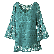 peacock tunic top 2