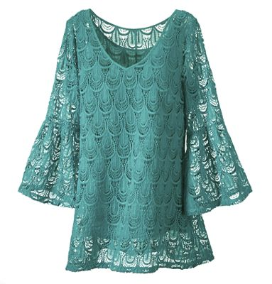 Peacock Tunic Top