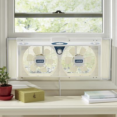 Twin Window Fan by Lasko