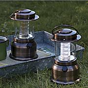 set of 2 vintage lanterns