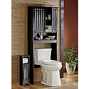 Shoji Bath Space Saver and Toilet Paper Holder