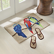parrot indoor outdoor mat