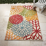 tropical indoor outdoor rug