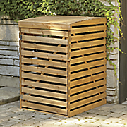 garbage bin storage unit