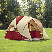 4 person clear creek vestibule tent by texsport