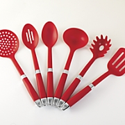 6-Piece Delicious Red Utensil Set