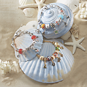 charm slider bracelet