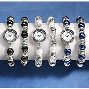 stretch watch   bracelet set