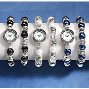 stretch watch   bracelet set
