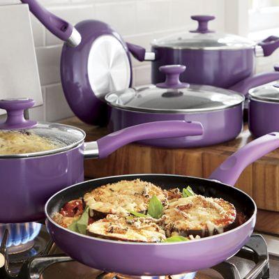 Ginny's Brand 10-Piece Nonstick Aluminum Cookware Set