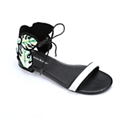Leaf Back Sandal