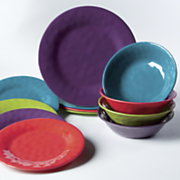 12 pc  assorted dinnerware set