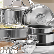 Genesis Cookware 10-Piece Stainless Steel Set by Circulon