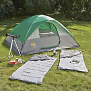 camping package by coleman