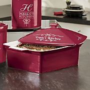 Personalized Covered Casserole Dish