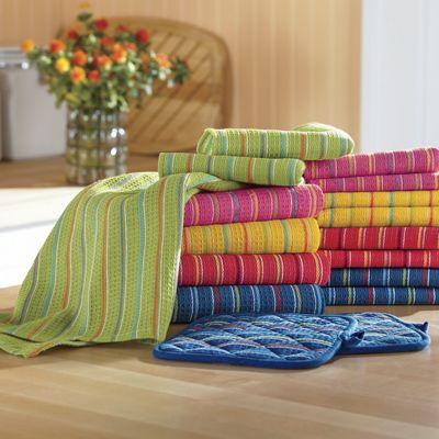 17-Piece Assorted Capri Towel Set