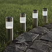 Cylinder Solar Pathway Lights