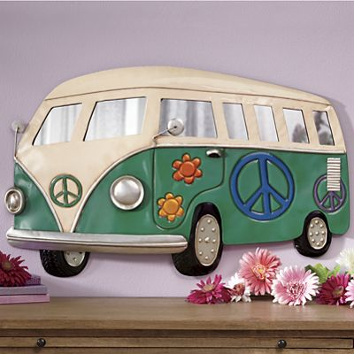 Love Bus Wall Hanging