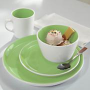 16 pc  color burst dinnerware set by oneida