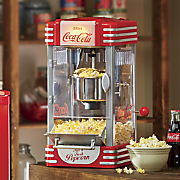 Retro Coke Kettle Popcorn Maker