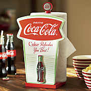 retro coke paper towel holder