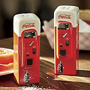 Retro Coke Salt and Pepper Set