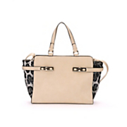 colorblock animal satchel