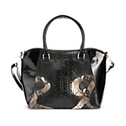 Animal Swirl Satchel