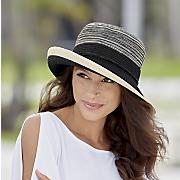 marled braid hat
